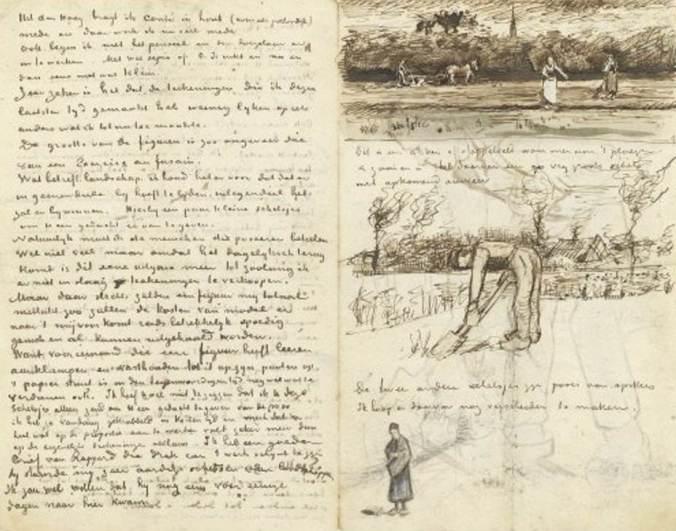 Van gogh-lettre musée
