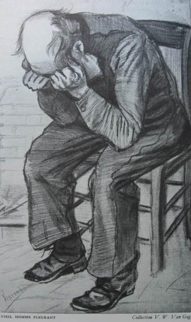 Van Gogh-vieil homme pleurant