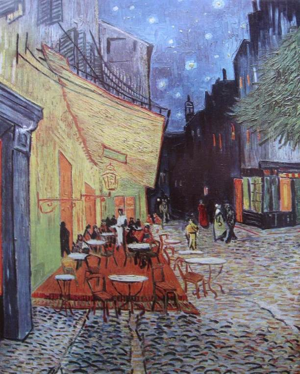 Van Goghh-La terrasse